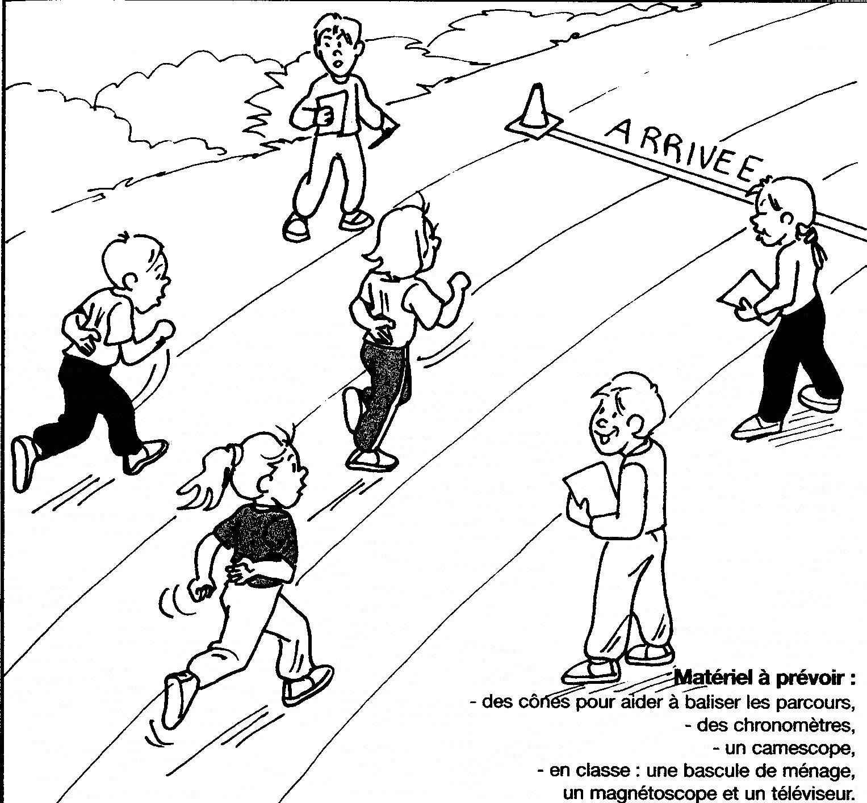 Course de vitesse cycle 2
